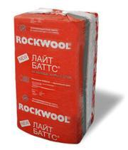Теплоизоляция (Утеплитель) ROCKWOOL (Роквул) ЛАЙТ баттс,  Венти,  РУФ