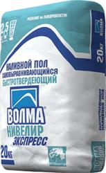 Наливной пол ВОЛМА-НИВЕЛИР ЭКСПРЕСС в Волгограде.