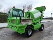 Продается самозагружающийся бетоносмеситель Merlo DBM 3500