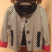Укороченный пиджак в горошек OPPIOFASHION (44-46)