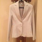 Светло-серый пиджак Mango (44-46)