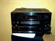 Продается AV ресивер «Pioneer-609 RDS».